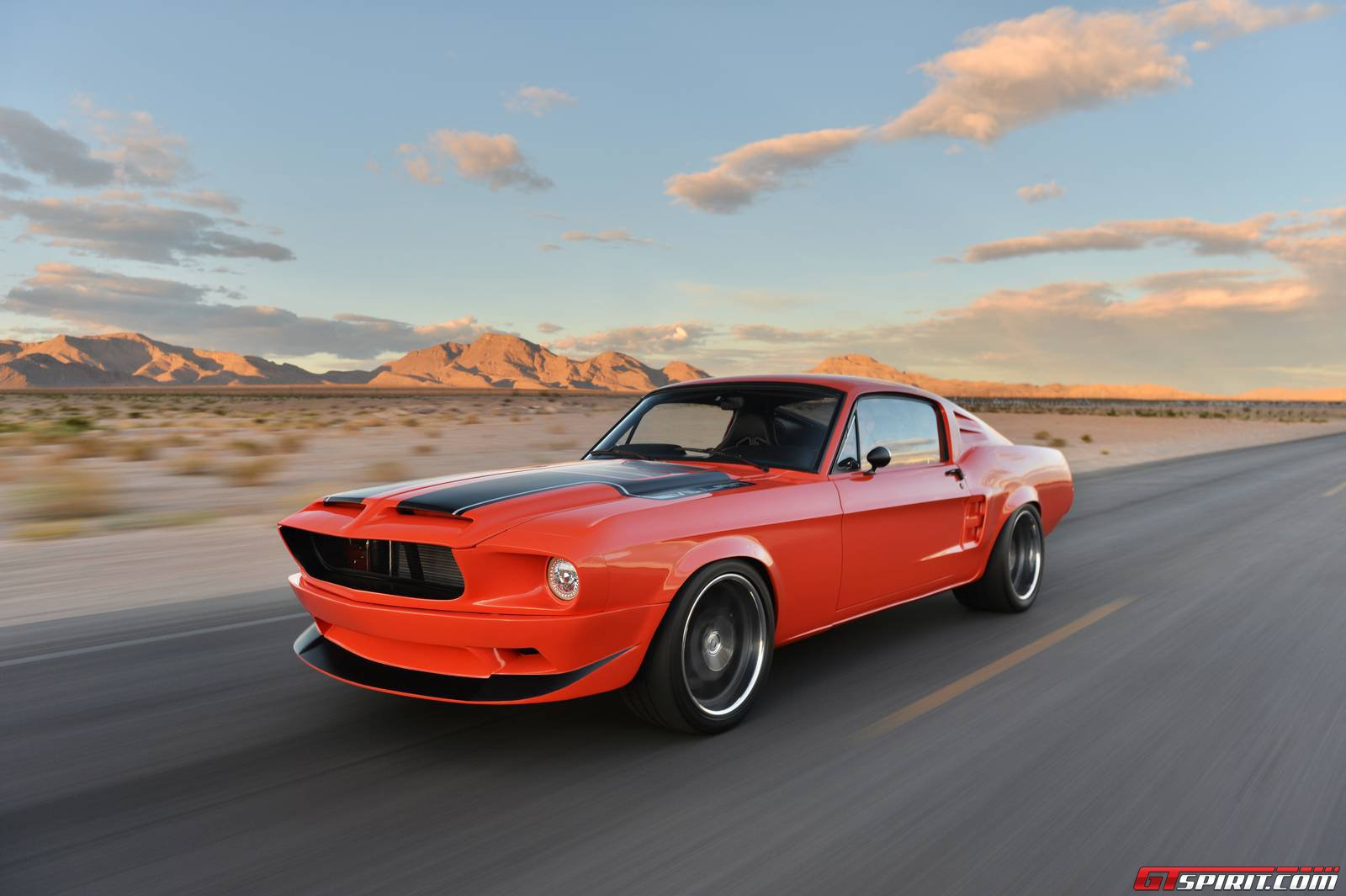Official 1968 Mustang Villain By Cr Supercars Gtspirit