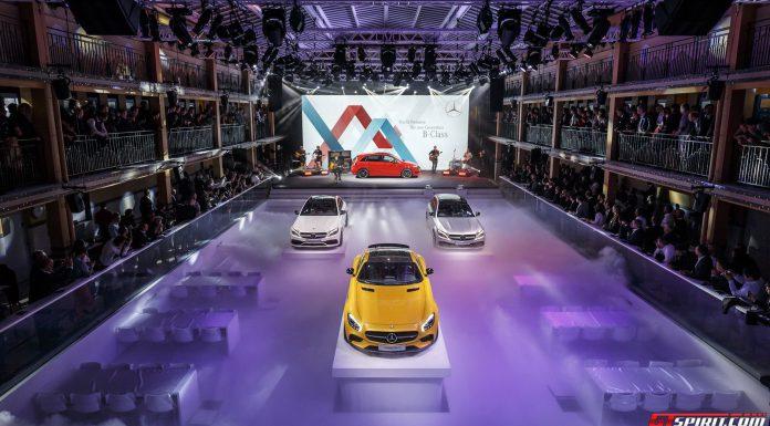 Mercedes-benz Media night at Paris Motor Show 2014