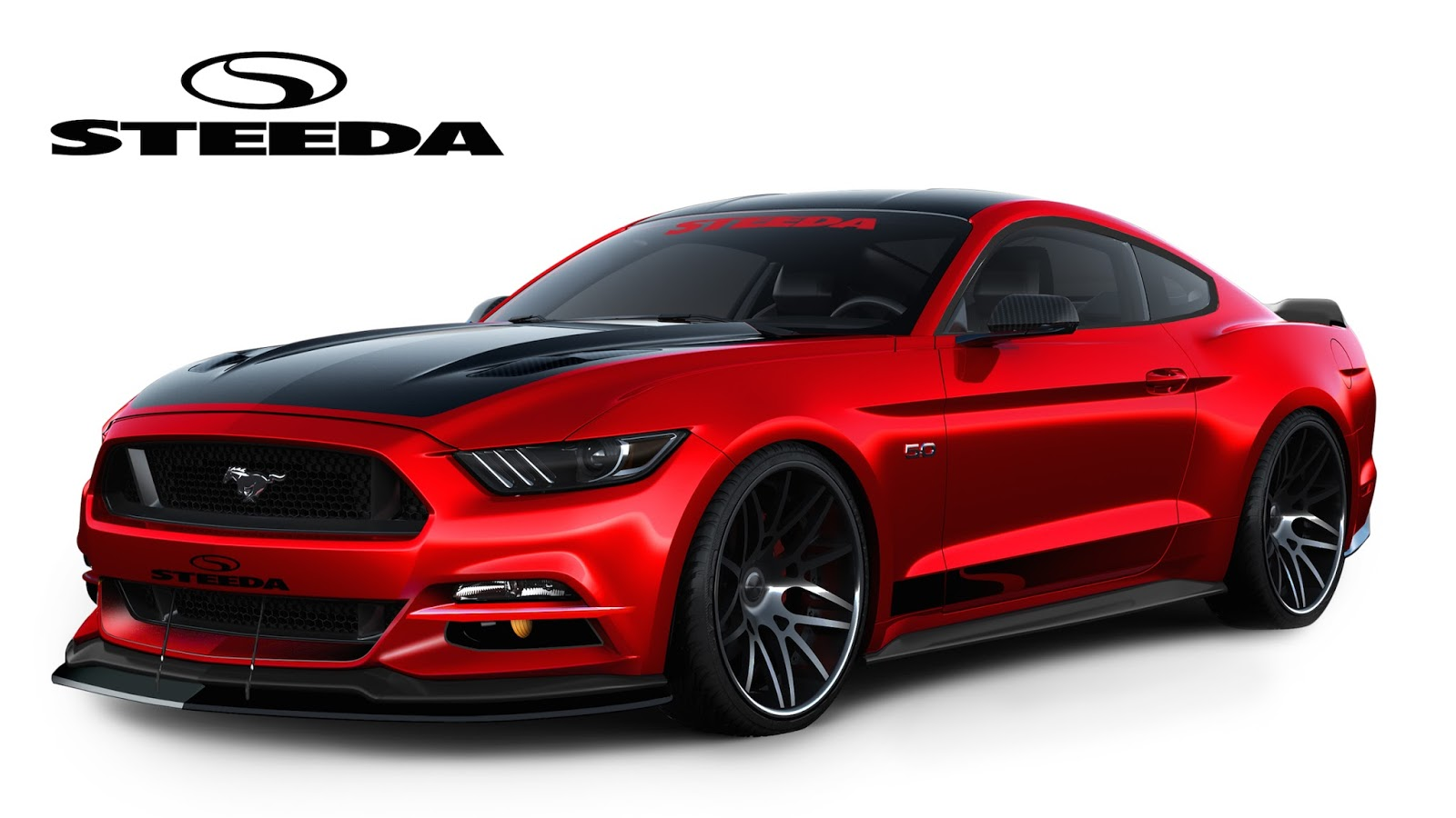 steeda previews upgraded 2015 ford mustang gtspirit. Black Bedroom Furniture Sets. Home Design Ideas
