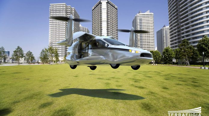 TF-X Street-Legal Hybrid Aerocar by Terrafugia