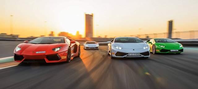Lamborghini Announces Driving Programs 2015