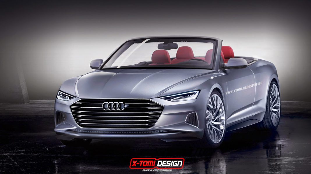 Audi Prologue Rendered as a Droptop
