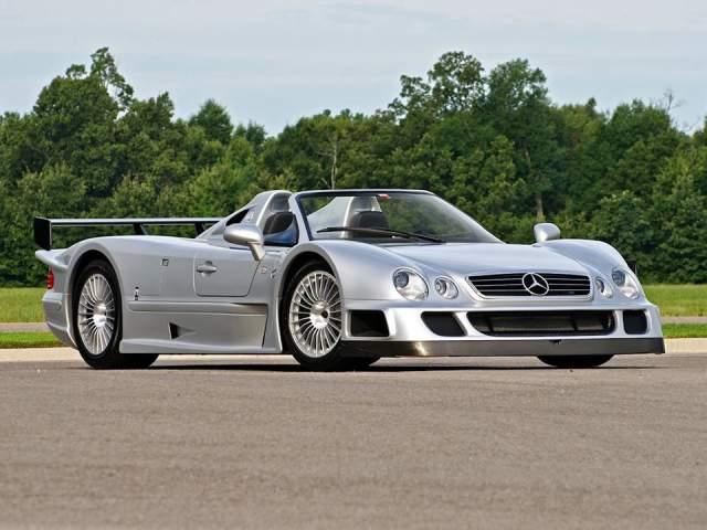 2002 Mercedes CLK GTR Roadster For Sale at $2,800,000