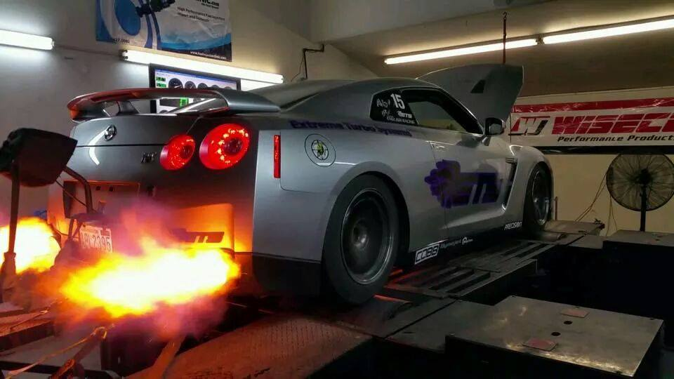 Video Ets Nissan Gt R Records 2000whp On The Dyno Gtspirit