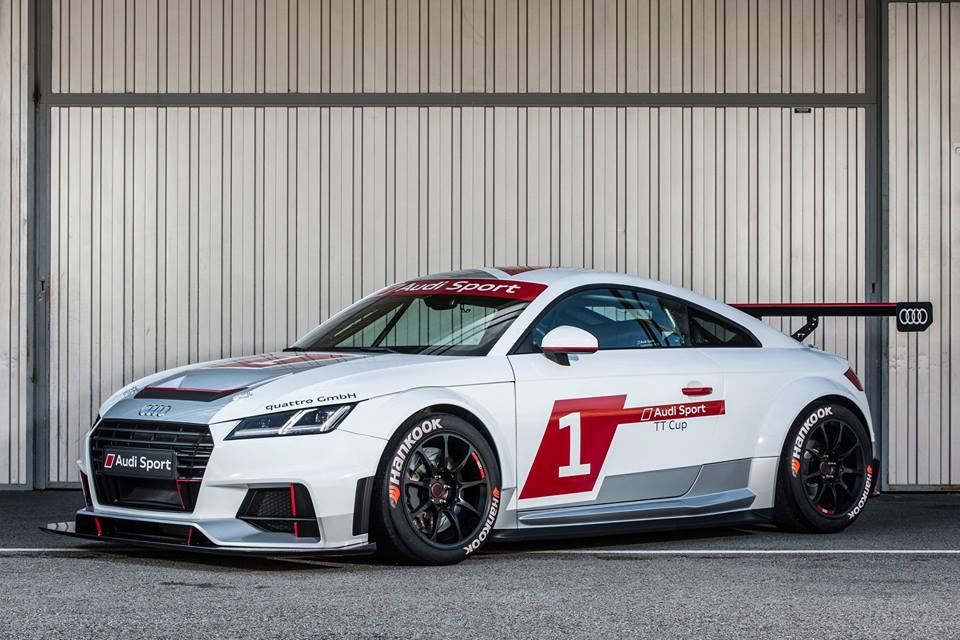 Hankook Appointed Official Tire Partner for New Audi Sport TT Cup