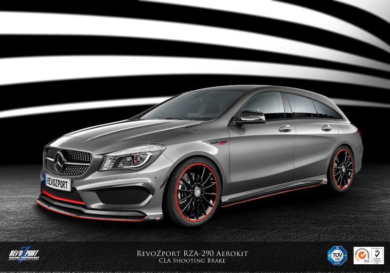 Official Revozport Mercedes Benz Cla Shooting Brake Gtspirit