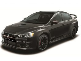 Mitsubishi Evolution X Final Concept