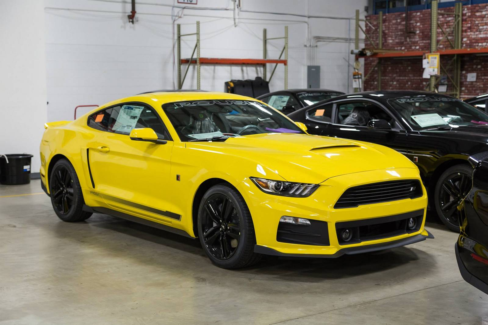 tuningcars roush reveals first batch of production ready 2015 rs mustangs. Black Bedroom Furniture Sets. Home Design Ideas