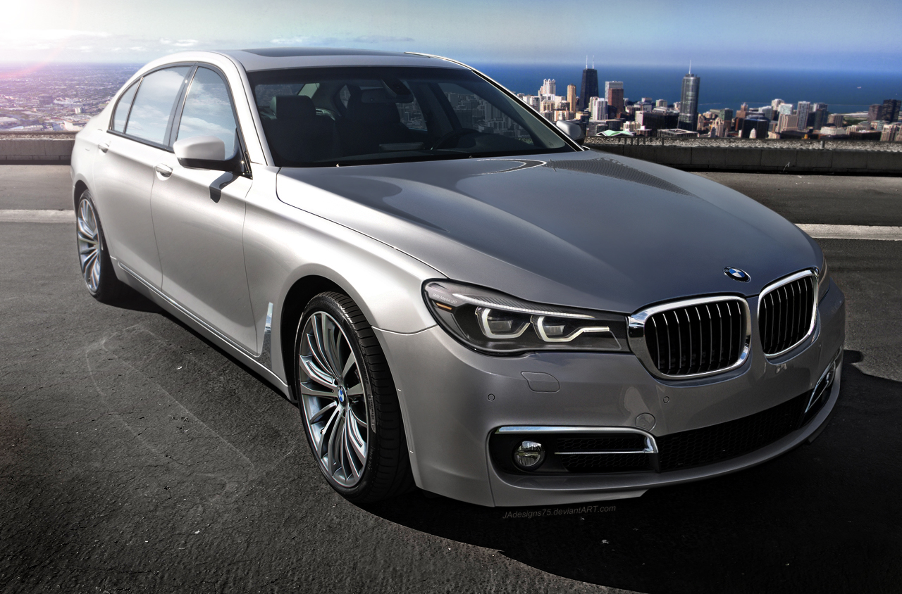 Rendering Next Generation Bmw 7 Series Gtspirit