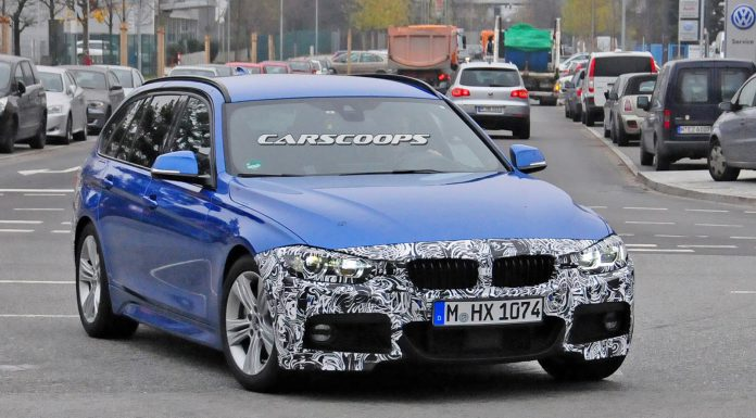 Facelifted BMW 3-Series Touring