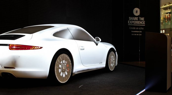 'The Sound Of Porsche' Multi-Sensory Pop-up Store
