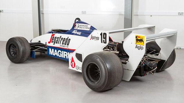 Ayrton Senna's Old Toleman F1 Car