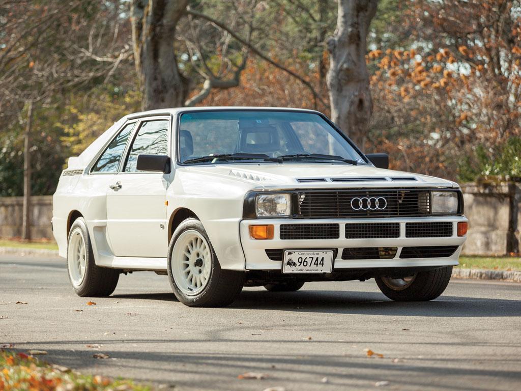 1984 Audi Sport Quattro Heading to Auction