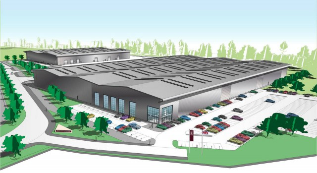 New Rolls-Royce Technology and Logistics Centre Underway