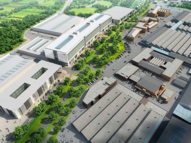 New Bentley R&D Center in Crewe