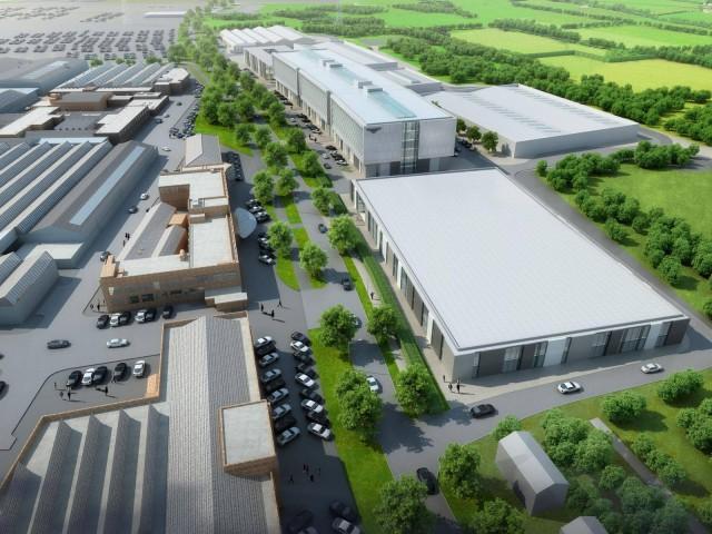 Bentley Research Center in Crewe