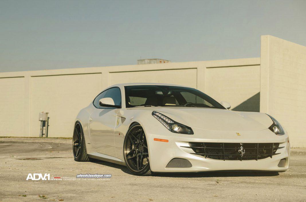 Ferrari FF With ADV.1 Wheels
