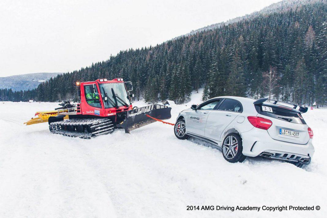 AMG Winter Sporting Basic in Austria