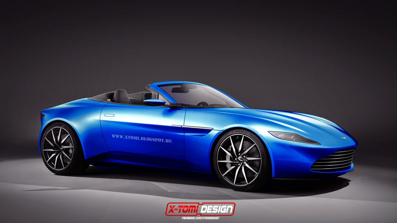 aston martin db10 rendered as shooting brake and volante gtspirit. Black Bedroom Furniture Sets. Home Design Ideas