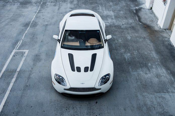 Aston Martin V12 Vantage with Satin Black HRE Wheels