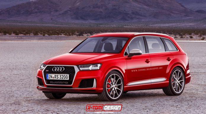 Possible Audi RS Q7
