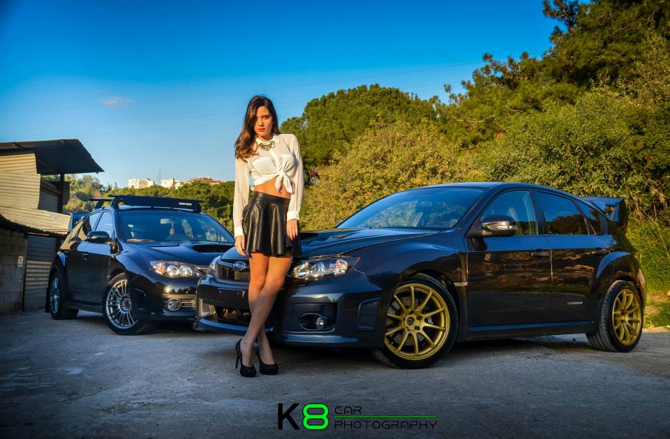 cars and girls krystelle drouby dazzles a bmw and sti duo gtspirit BMW 335I Twin Turbo cars and girls krystelle drouby dazzles a bmw and sti duo