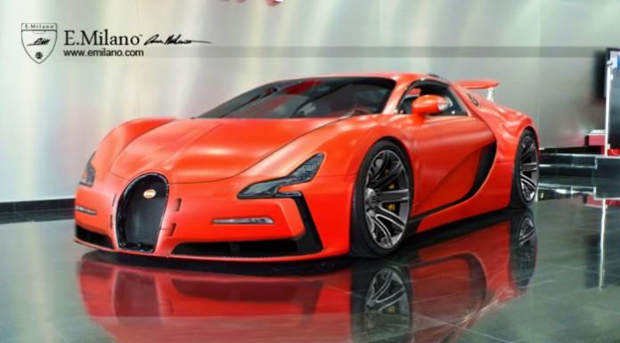 Bugatti EB111 Imagined by Evren Milano