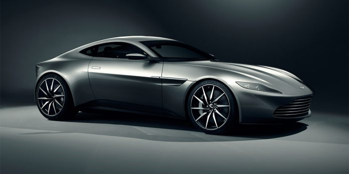Aston Martin DB10 Revealed for New 007 Movie
