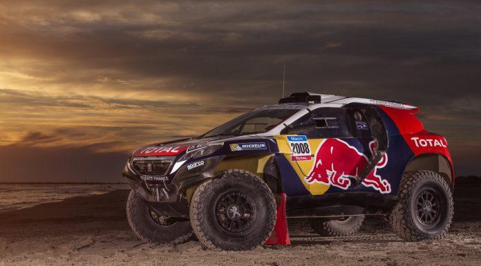 Peugeot Previews Dakar Rally 2015