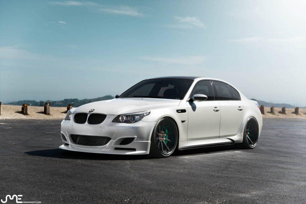 Widebody BMW M5 EGTS60 by Enlaes