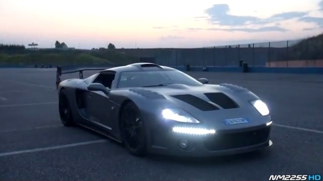 Factory 5 Gtm >> Video Factory Five Gtm Does Huge Burnouts And Flames