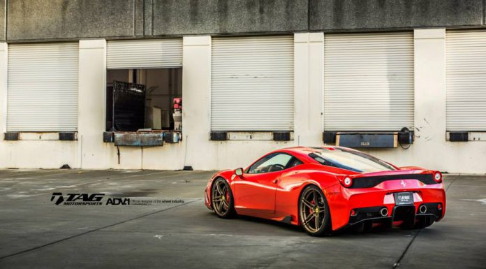 Ferrari 458 Speciale Stuns on ADV.1 Wheels