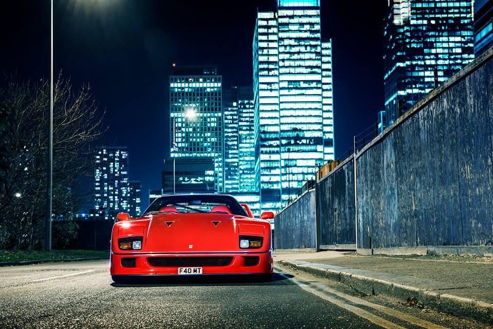 Photo of the Day: Legendary Ferrari F40!