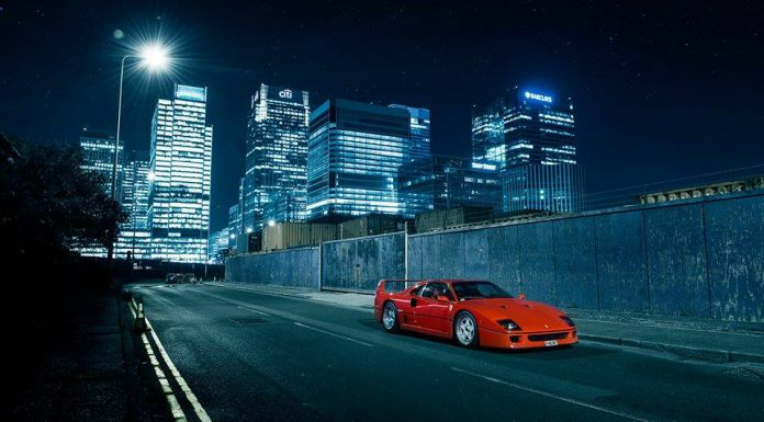 Photo of the Day: Legendary Ferrari F40!