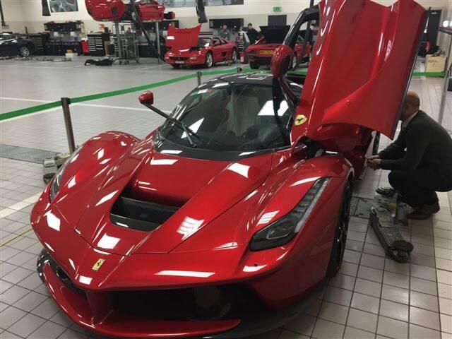 Paul Bailey Acquires Rosso Fiorano Ferrari LaFerrari