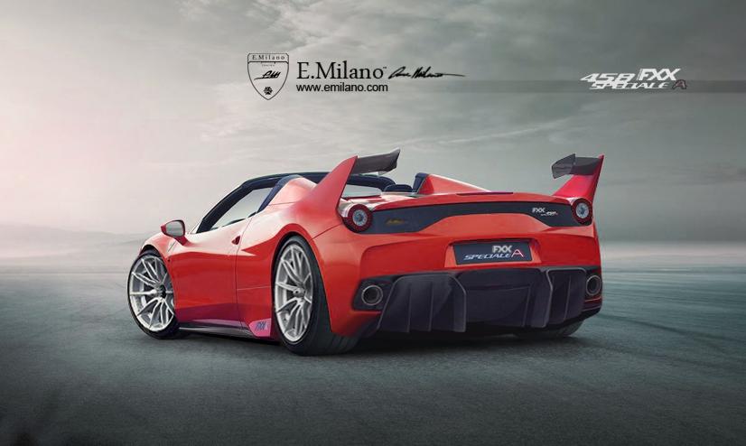 Ferrari 458XX Speciale A render