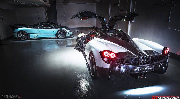 Pagani Huayra and Zonda 760RSJX