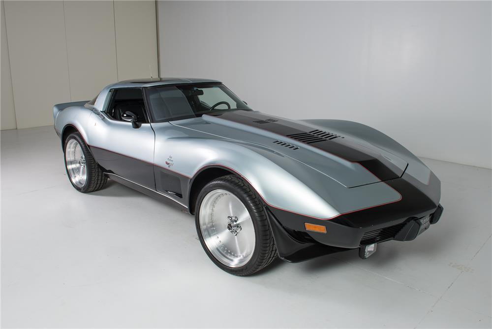 Turbine-Powered 1978 Corvette