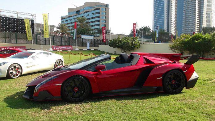 Hypercars in Dubai
