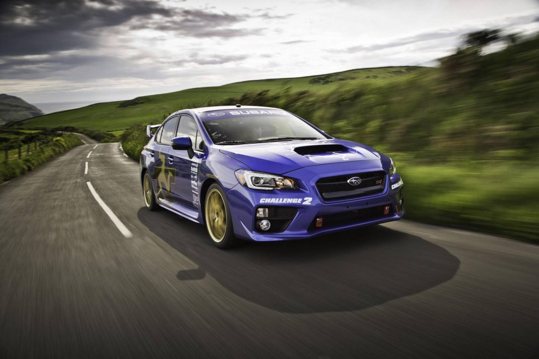 David Higgins to Race a 2015 Subaru WRX STI in Next Rally America Season