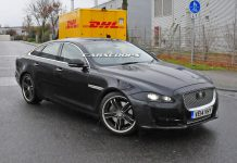 Facelifted Jaguar XJ