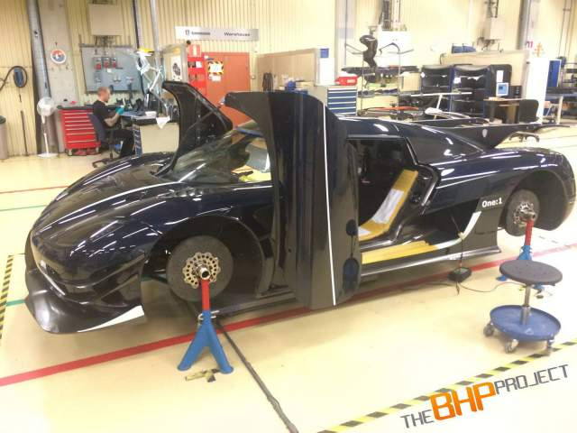 The BHP Project Koenigsegg One:1 Nears Completion