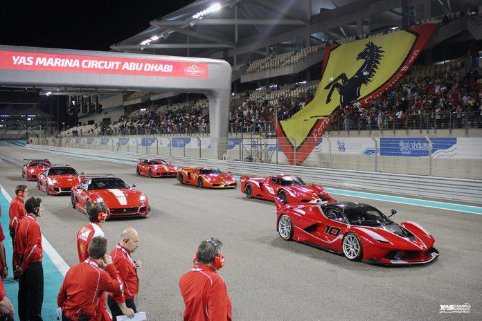 LaFerrari FXX K at Yas Marina Circuit