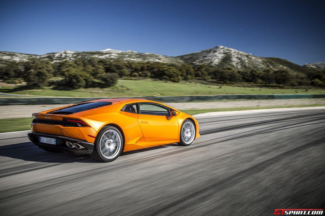 Lamborghini sets sales record