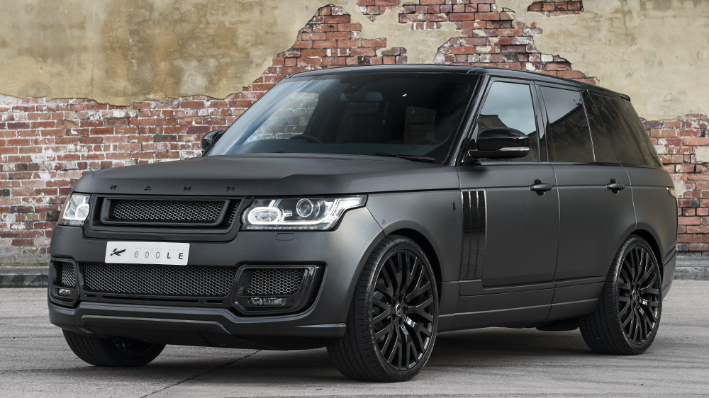 Range Rover Matte Black >> Project Kahn Reveals Three New Range Rovers Gtspirit