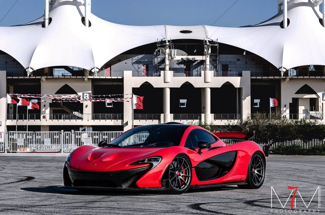 Photo of the Day: Red MSO McLaren P1