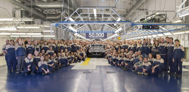 50,000th Maserati Produced During Maserati 100th Birthday
