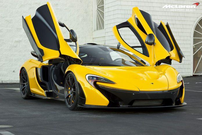 Volcano Yellow McLaren P1 Chassis No.204