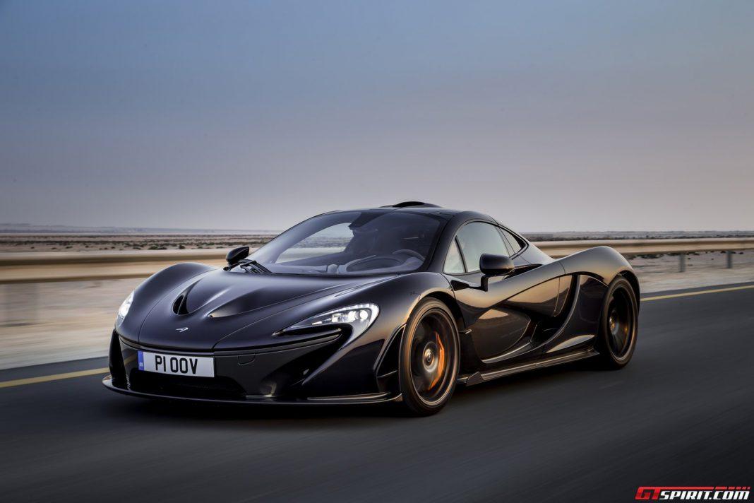 Carbon Fibre Bodied McLaren P1