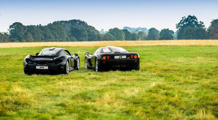 McLaren F1 and P1 Posing Together